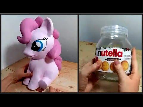 ❣DIY Pony Bank using Nutella Jar❣