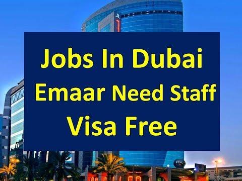 Jobs In Dubai Big Company Emaar Need Staff | Visa Free | Free Jobs In Dubai |