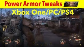 Fallout 4 Xbox One/PC/PS4 Mods|Power Armor Tweaks