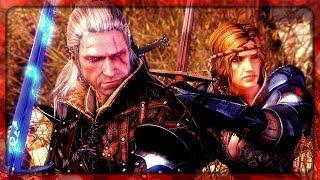 Witcher 2: Geralt Meets Saskia in Aedirn