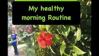 My healthy morning routine | Back to Healthy Morning Routine | MorningWalk with me