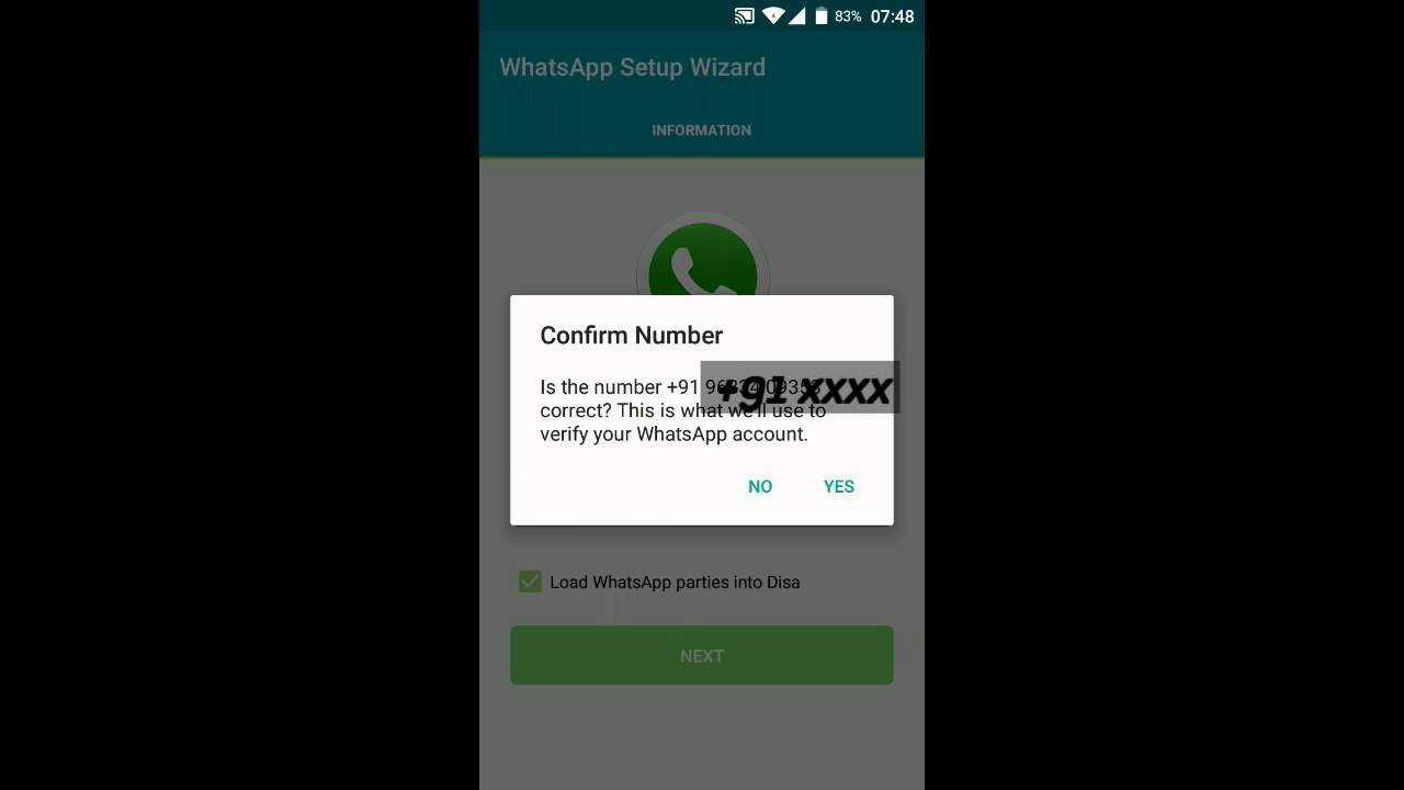 How to Activate Two WhatsApp Number on Same Phone - NO ROOT Needed - Disa  Android App