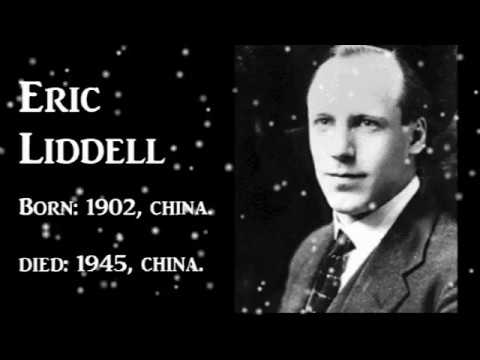Eric Liddell Biography - Olympic Achiever &  Missionary - Tamil