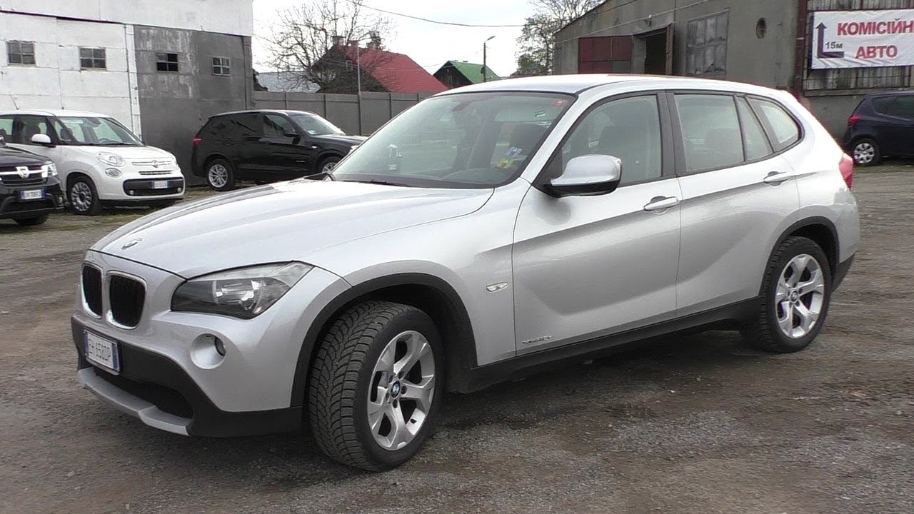 BMW X1 xDrive 20d Sparking Brown (2015) Exterior and Interior in .