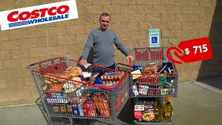 США Большая закупка в Костко Покупаем продукты на месяц в Америке Costco не перестает удивлять