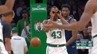 Boston Celtics 23-0 run vs Memphis Grizzlies (01/22/2020)