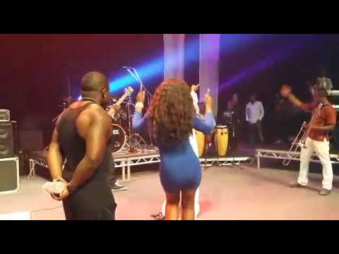 Daddy Lumba, Castro & Kofi Nti live On stage in London dominion centre with  Deyoungs Burners