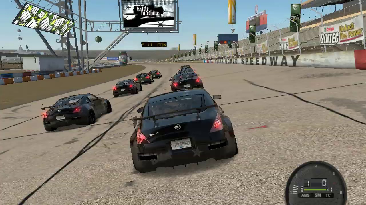 Download Need for Speed ProStreet  Texas Nissan 350Z  Grip Club Curcuit B