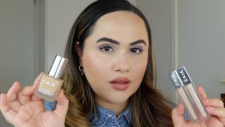 CAIA FOUNDATION & CONCEALER + GIVEAWAY!