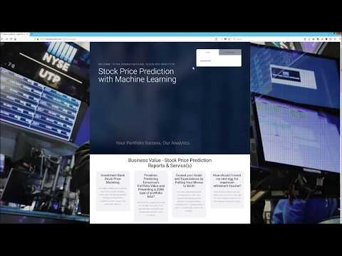 Stock Price Prediction with Machine Learning