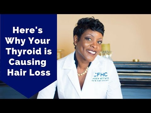 Your Thyroid Could Be Causing Hair loss - Hair fall