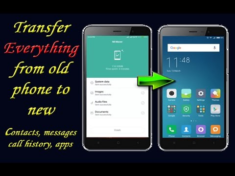 Part 1: How to transfer SMS from Android to Android in 1 click (max. 3 min)