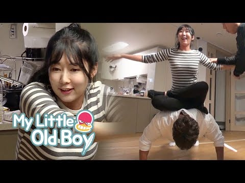 Not Even Byung Hun Can do it, But How About Jong Kook? [My Little Old Boy Ep 115]