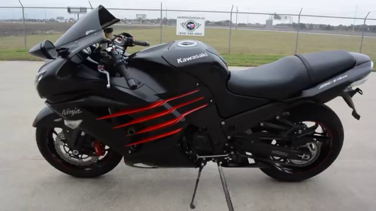Red Kawasaki Ninja For Sale
