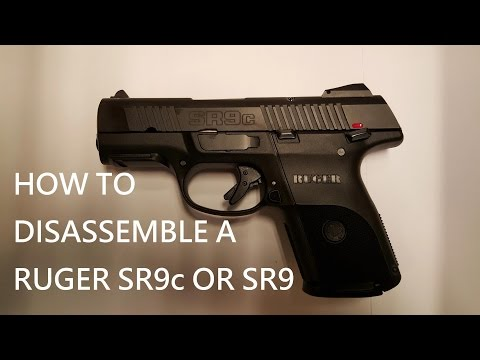 How to Field Strip a Ruger SR9 or SR9c