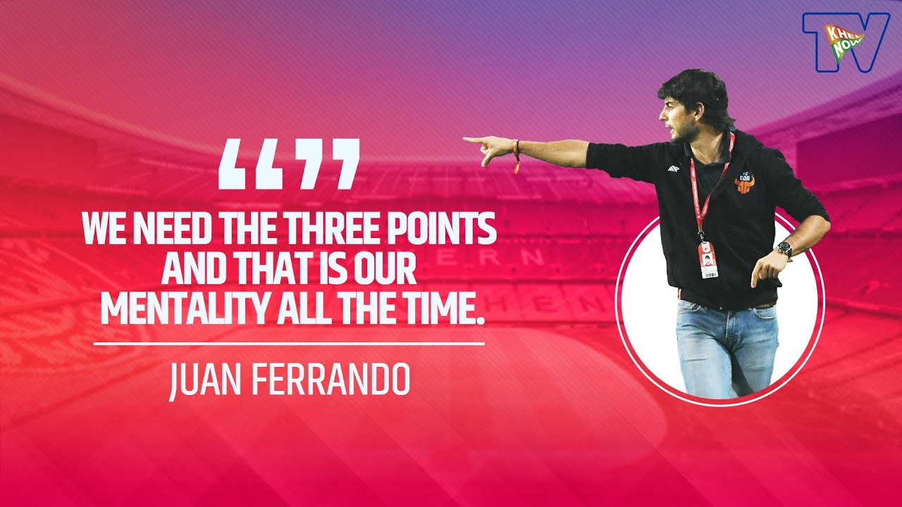 Download ISL 2020-21   Juan Ferrando Pre Match Press Conference   FC Goa Vs NorthEast United