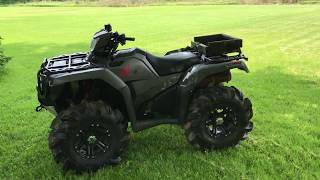 Things I DON'T like about my Honda Rubicon 500 Deluxe Edition