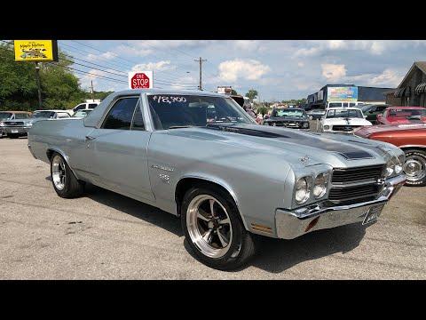 1970 Chevrolet El Camino 4 Speed $18,900 Maple Motors #643