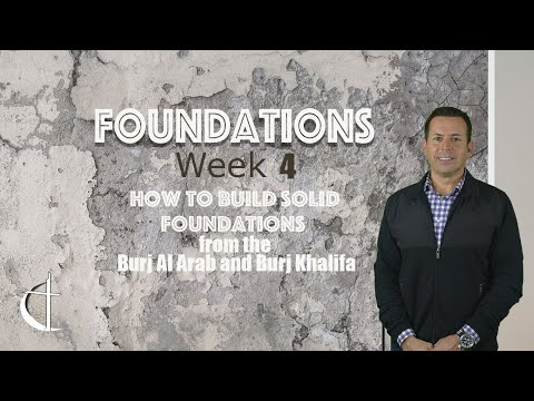 How to Build Solid Foundations from the Burj Al Arab and Burj Khalifa