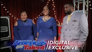 Danell Daymon & Greater Works Open Up Their Hearts About AGT - America