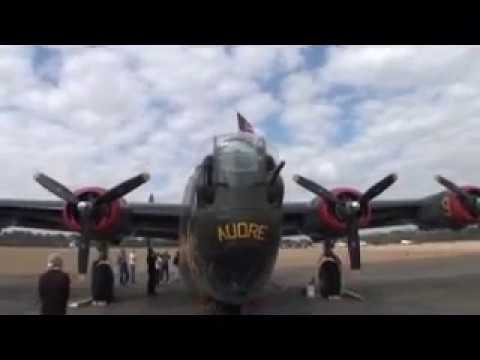 B-24 Liberator walk through tour