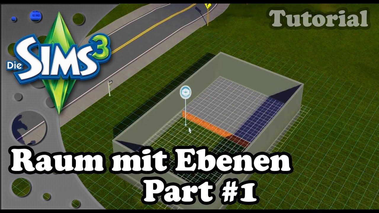 Die Sims 3  Tutorial  Raum mit Ebenen  YouTube