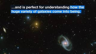 Several Galaxies Seen in Incredible Telescope Imagery