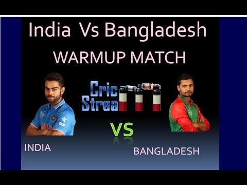 INDIA VS BANGLADESH CHAMPIONS TROPHY PRACTICE MATCH ODI LIVE MATCH FROM THE OVAL,WARM UP MATCH