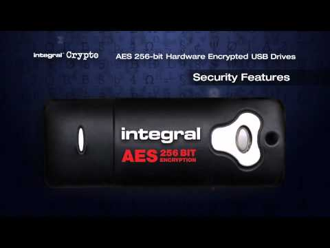 Integral Crypto Drive FIPS encrypted range - Main features