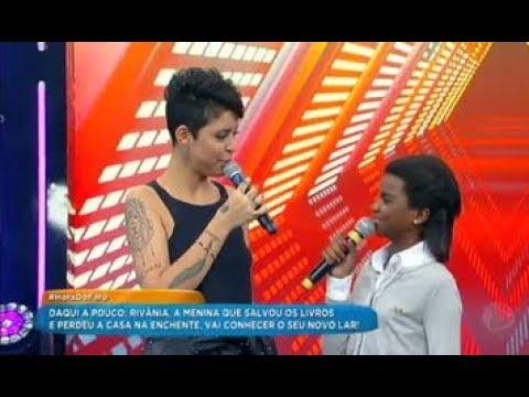 Mirella Mostra O Seu Talento à Frente Das Câmeras E Ganha Prêmios No Hora Do Faro