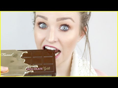NEW Too Faced Chocolate Gold Palette • HIT OR SHIT?