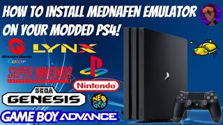 How To Install Mednafen Emulator On Your Jailbroken PS4! (SNES/Sega/PSX/GBA+ More!) #Mednafen