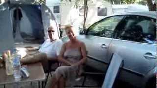 Jackie et Vincent au camping Miramar à la Londe les Maures