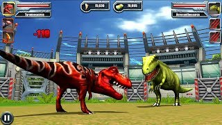 Jurassic Park Builder BATTLE Android Gameplay