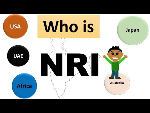 Who Is NRI ( Non Resident Indian ) | Are You An NRI | Definition Of NRI | Full Form Of NRI