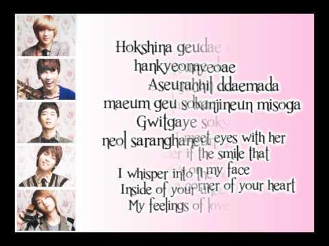 SHINee - One Lyrics [Romanization+English Translation]