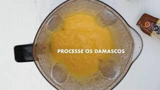 Espaguete de Abobrinha com Molho de Damascos e Queijo Parmigiano Zarpellon