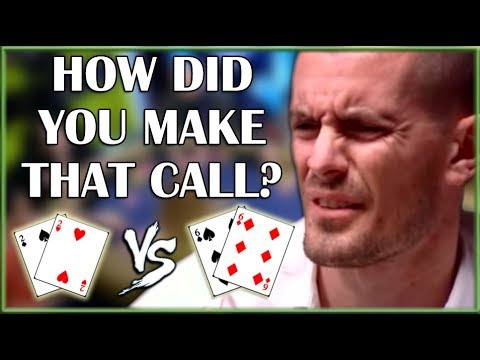 He SHOWS the BLUFF! - A poker video