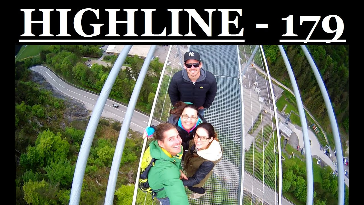 Innsbruck highline 179 reutte tirol longest for World s longest video