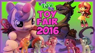 My Little Pony Hasbro Toy Fair 2016 Visit - Guardians of Harmony, Flurry Heart & More! | BinsToyBin