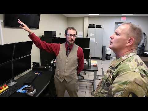 Deputy commanding general visits
