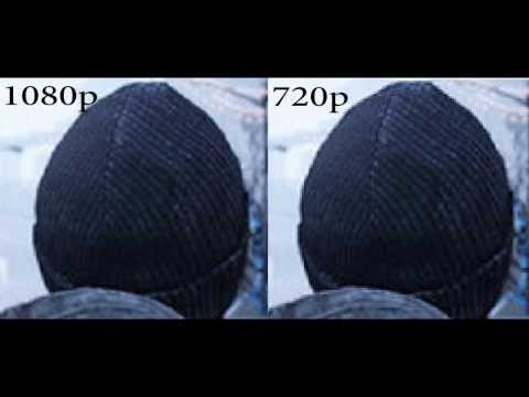 1080p vs 720p. Explanation, Differences, Anti-Aliasing, Jaggies.