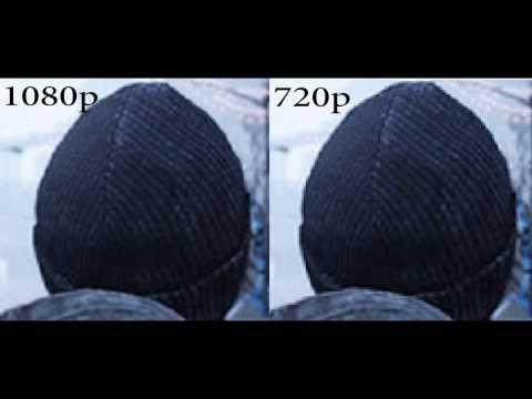 1080p vs 720p. Explanation, Differences, Anti-Aliasing, Jaggies.