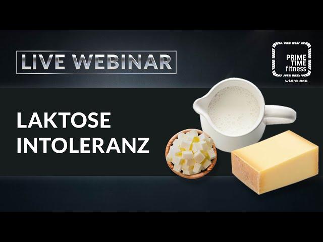 Laktoseintoleranz (live Webinar)