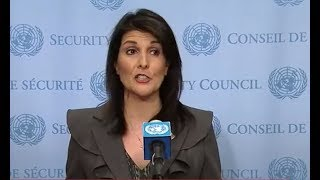 BREAKING: Ambassador Nikki Haley Gives EXPLOSIVE Speech at the UN Council on DPRK and Iran