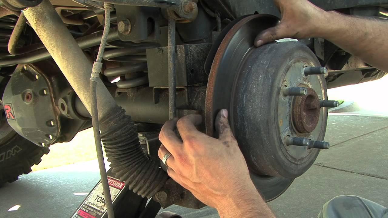 Rear Brake Pad Install  How To  YouTube