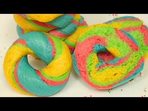 Rainbow Bagel I Food Trend aus New York