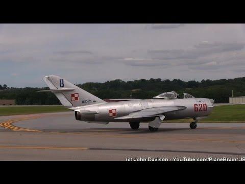 2015 Lancaster Airport Community Days - Randy W Ball - MiG-17PF