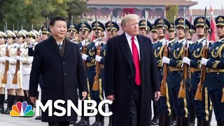 Dow Jones Down 600 Points In Response To Trump's Trade War With China   Hardball   MSNBC