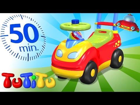 TuTiTu Specials | Ride-on Toy  | And Other Pupular Toys on Wheels | 50 minutes Special